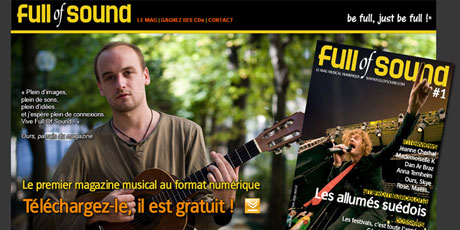 Full of Sound - magazine musical numerique