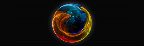 exemple de wallpaper Mozilla Firefox