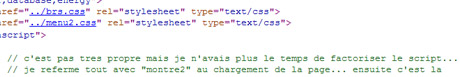 extrait de code source html-javascript