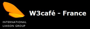 Logo W3cafe France (WaSP café)