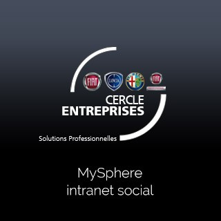 MySphere, l'extranet commercial Fiat Groupe France