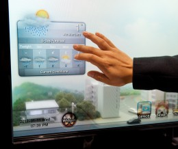 Transparent Smart Window, par Samsung