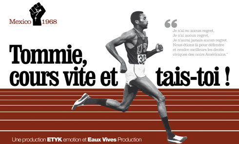 Tommie Smith, crowdfunding affiche