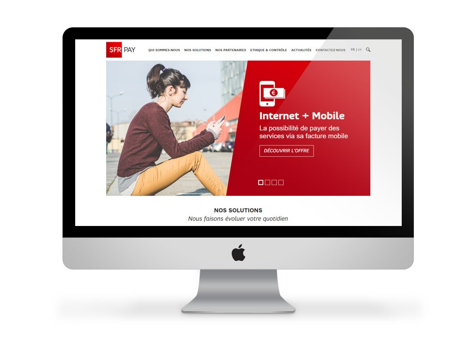 SFR Pay - interface site 01