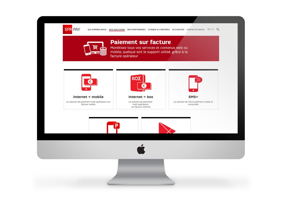 SFR Pay - interface site 02